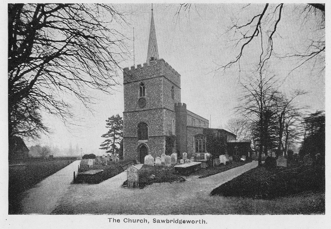 1922 or so Truswell ER SBW The Church