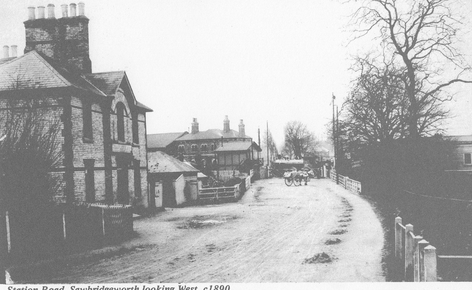 BS Photo Archive 1890 SWB Station Road looking West
