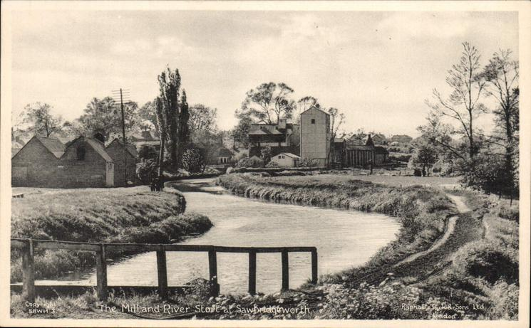 Mill and River Stort