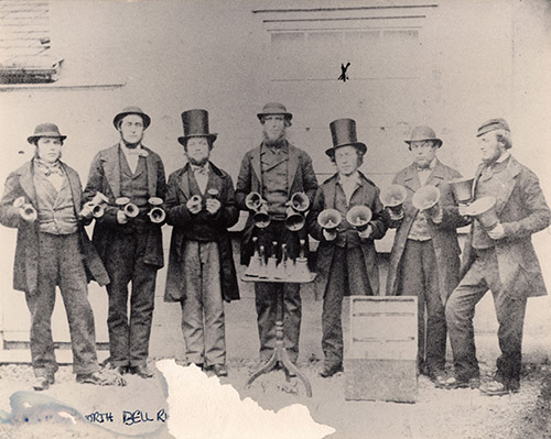 SBW Bell ringers date not known - pic from Anne Godden