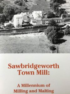 Sawbridgeworth Town Mill - booklet cover